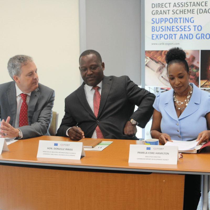 Thumnail image for CARIBBEAN EXPORT AND THE EUROPEAN UNION TO OPEN GRANTS CALL FOR CARIBBEAN COMPANIES