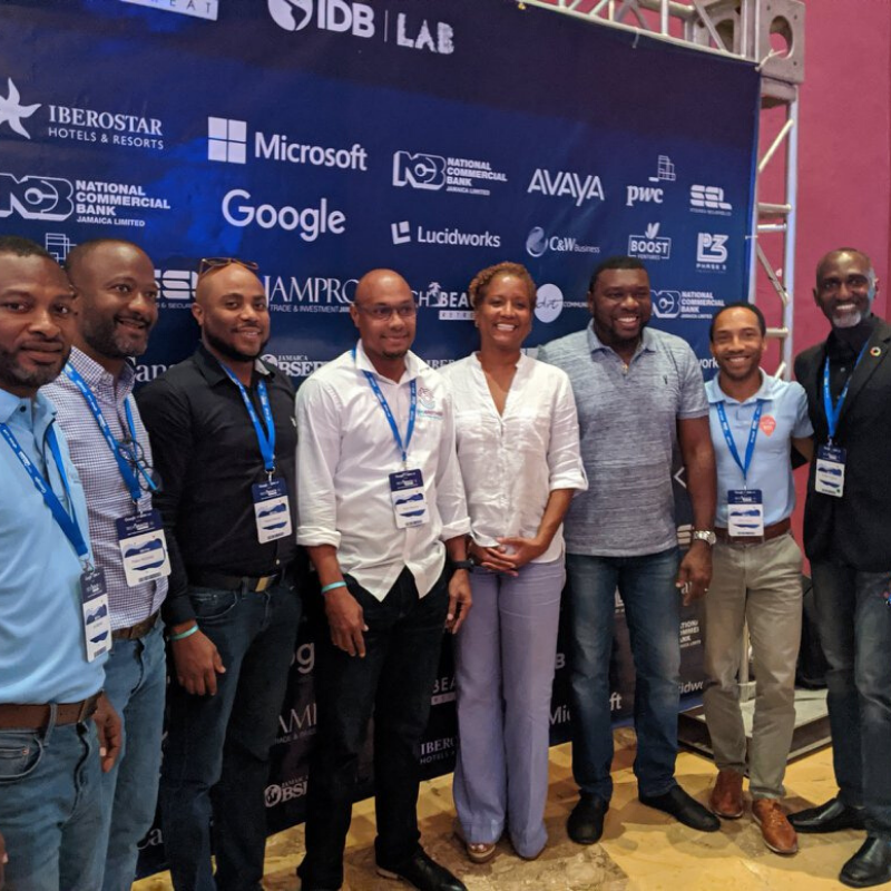Thumnail image for OECS ICT companies connect with global tech leaders at TechBeach Retreat in Jamaica