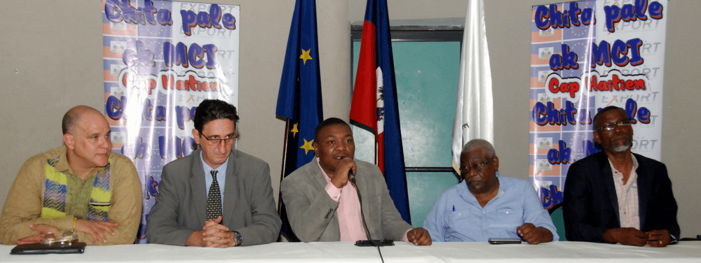 "Thumnail image for ""CHITA PALE AK MCI"" HAITIAN PUBLIC-PRIVATE SECTOR DIALOGUE"
