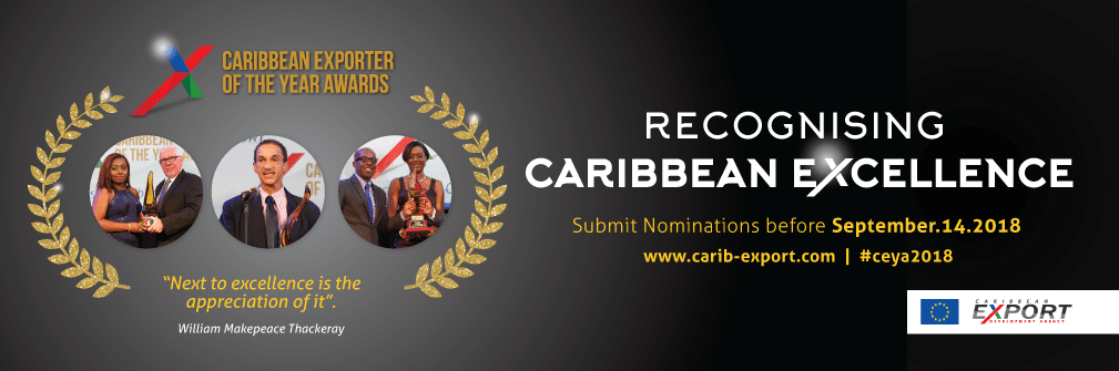 Slider: Caribbean Exporter of the Year Awards 2018