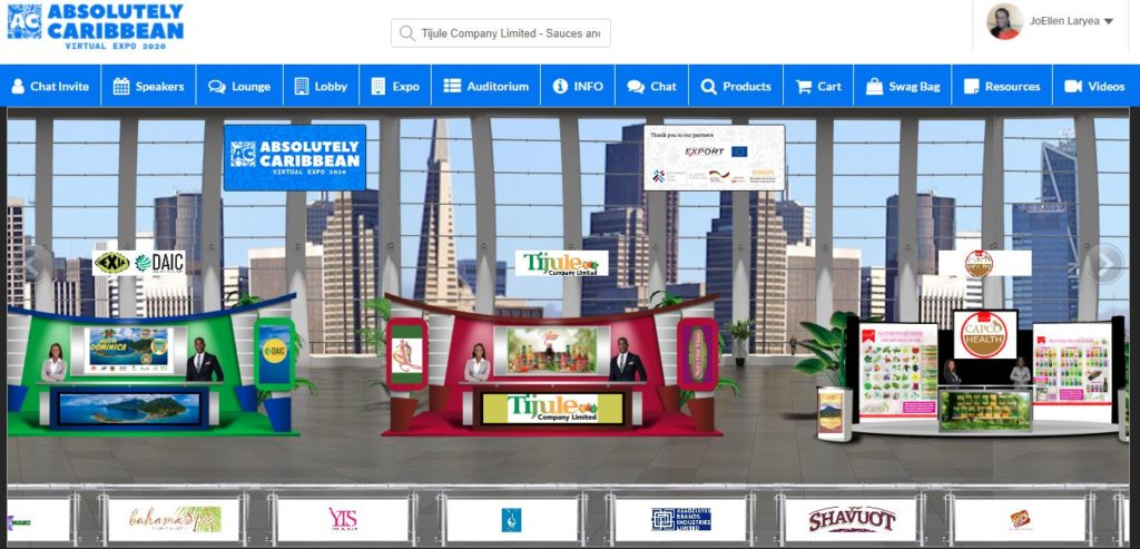 Thumnail image for 'Absolutely Caribbean Virtual Expo' A Hit with Regional Businesses