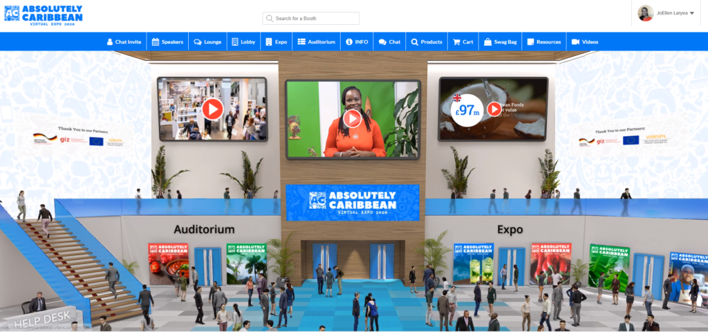 Thumnail image for Caribbean businesses take centre stage at the virtual expo 'Absolutely Caribbean'